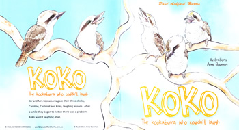 Koko The Kookaburra Who Couldn't Laugh